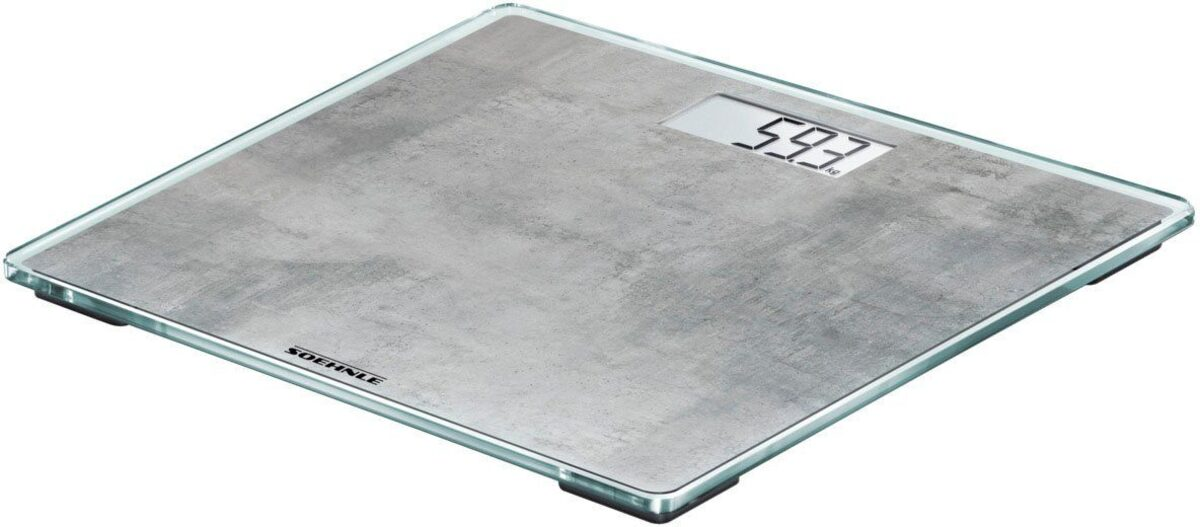 Bild 2 von Soehnle Personenwaage »Style Sense Compact 300 concrete«