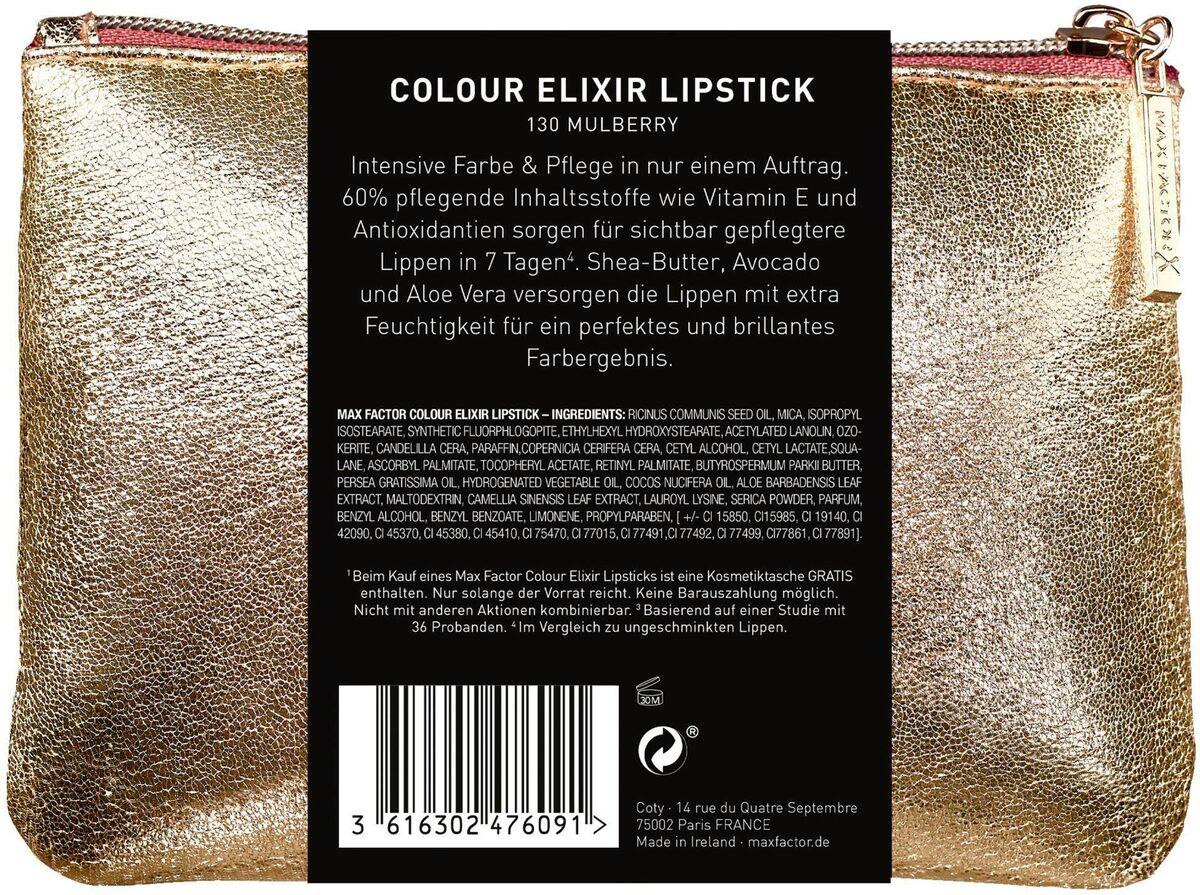 Bild 2 von MAX FACTOR Lippenstift-Set »Colout Elixir Lippenstift Weihnachtsset«, 2-tlg.