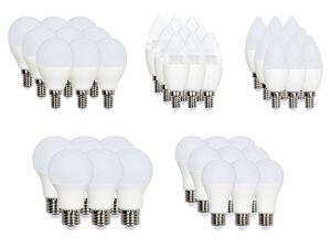 LIVARNO LUX® LED-Leuchtmittel, 6 Stück mit warmweißem Licht