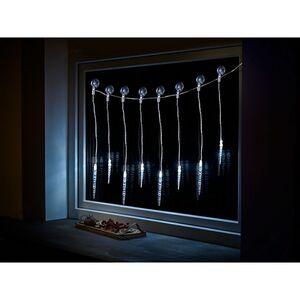 Dekor LED Lichtervorhang Acryl Zapfen