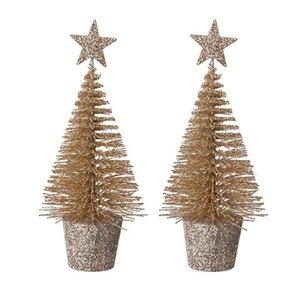 Deko-Weihnachtsbäume
