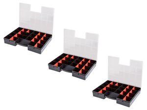 PARKSIDE® Hobby-Box, 3 Stück, mit Trennwänden