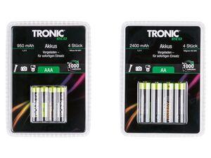 TRONIC® Akku Ni-MH Ready 2 Use, 4 Stück