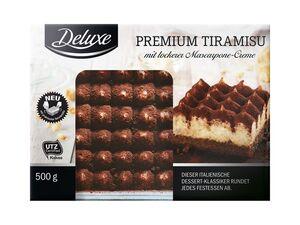 Dessert-Spezialitäten Tiramisu/ Profiteroles