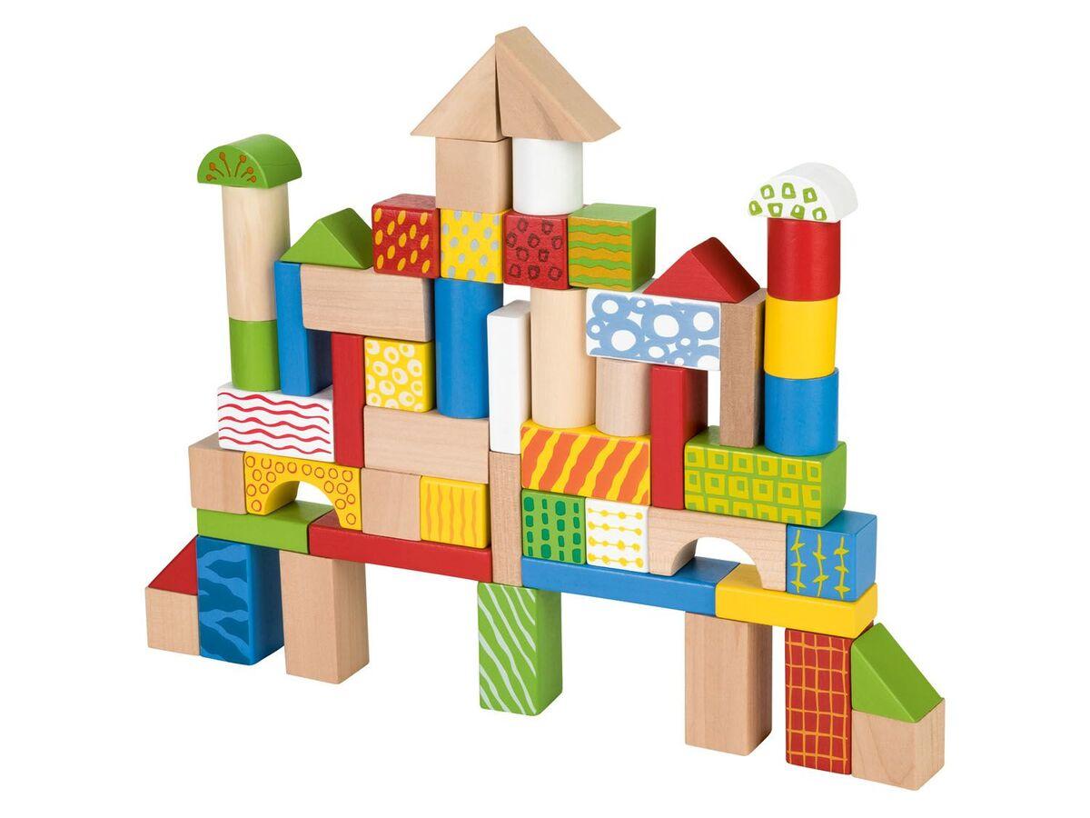 Bild 2 von PLAYTIVE® Holzbausteine