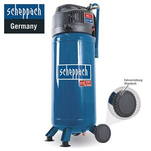 Scheppach Kompressor HC51V inkl. 10m Schlauch & 5tlg. Zubehör-Set