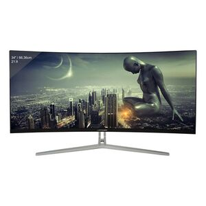 "LC-Power LC-M34-UWQHD-100-C - 34""-UltraWide-Curved-PC-Monitor"