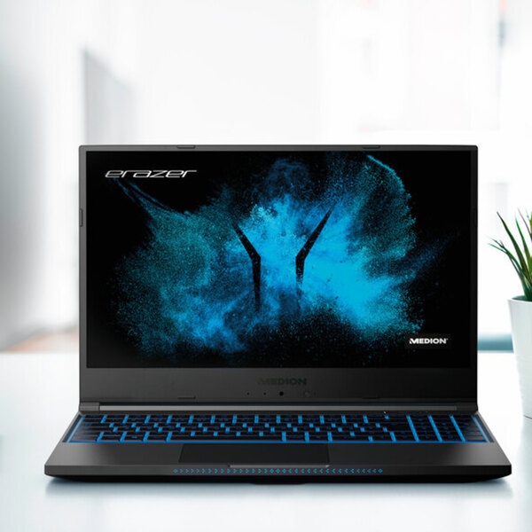 High-End-Gaming-Laptop MEDION® ERAZER® Guardian X10, Intel® Core™ i7-10750H Prozessor