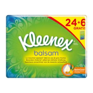Kleenex balsam