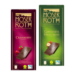 MOSER ROTH  	   				Edel-Zartbitter-Chocolade