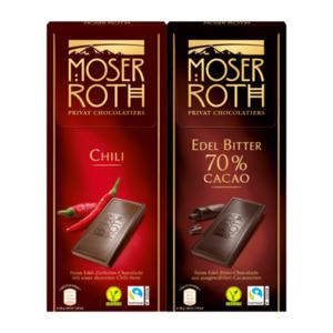 MOSER ROTH     Edel-(Zart-)Bitter-Chocolade