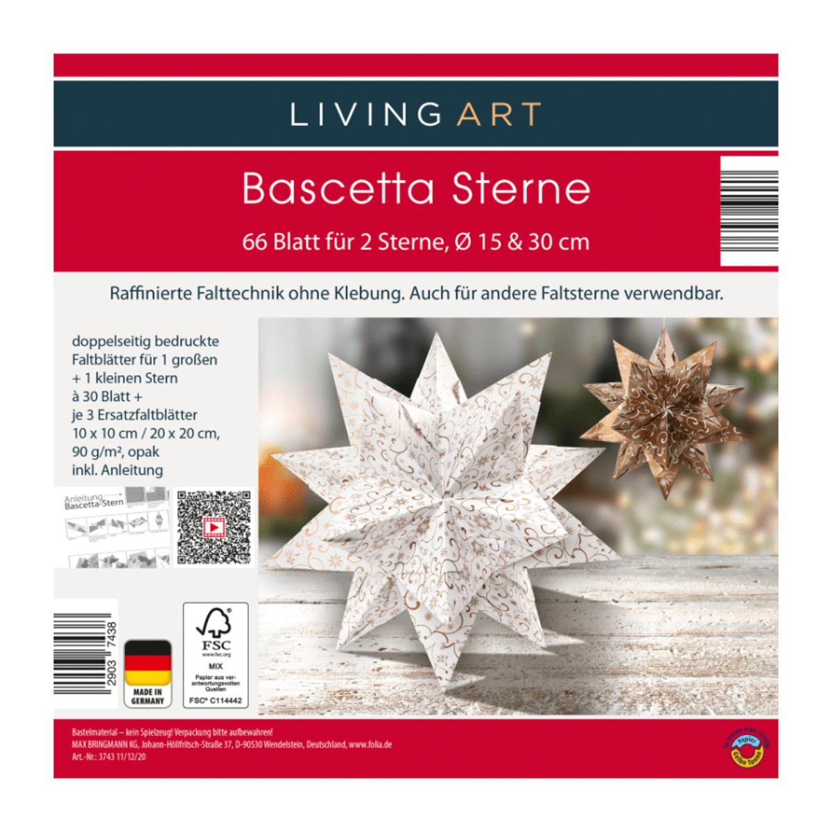 Bild 2 von LIVING ART     Bascetta Sterne