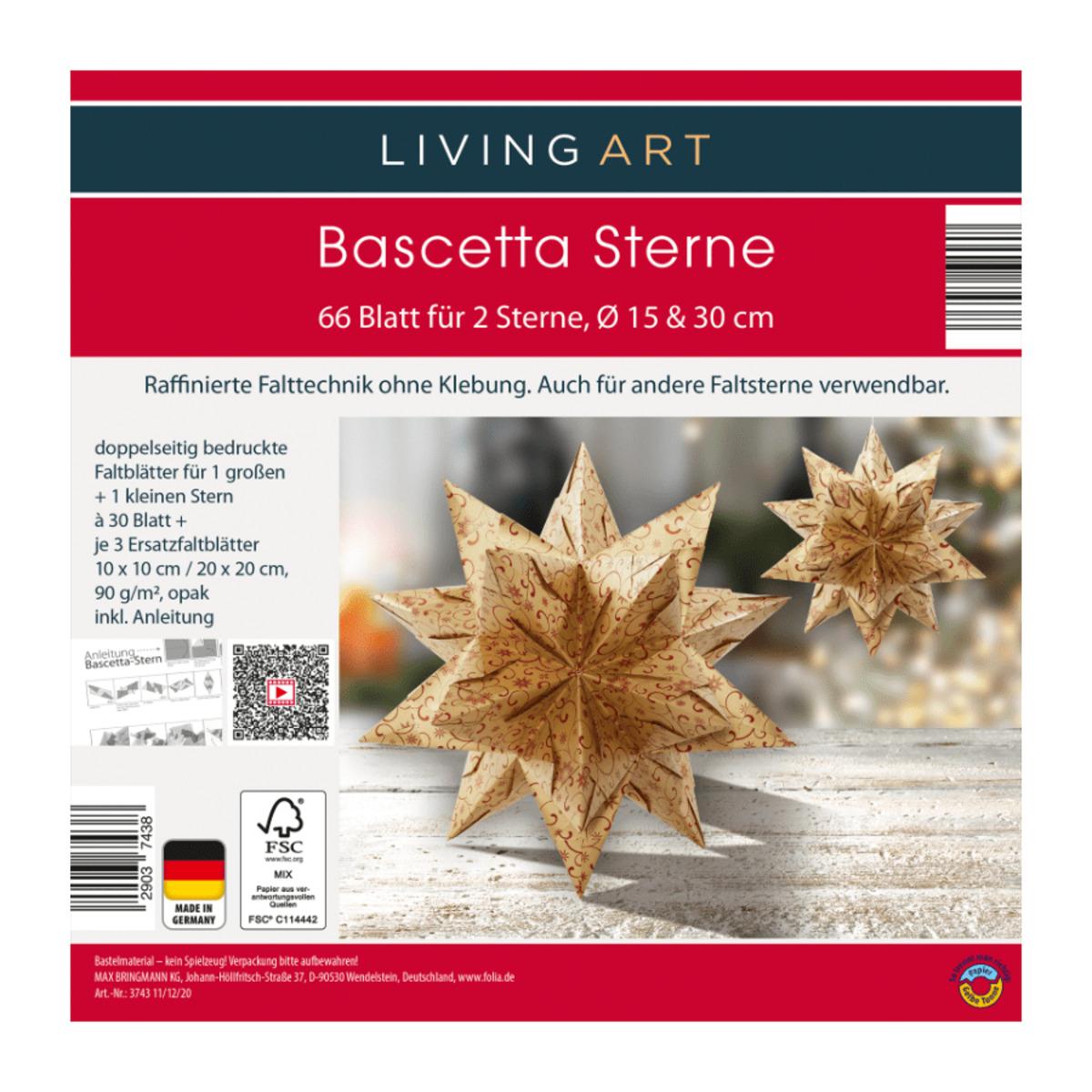 Bild 3 von LIVING ART     Bascetta Sterne