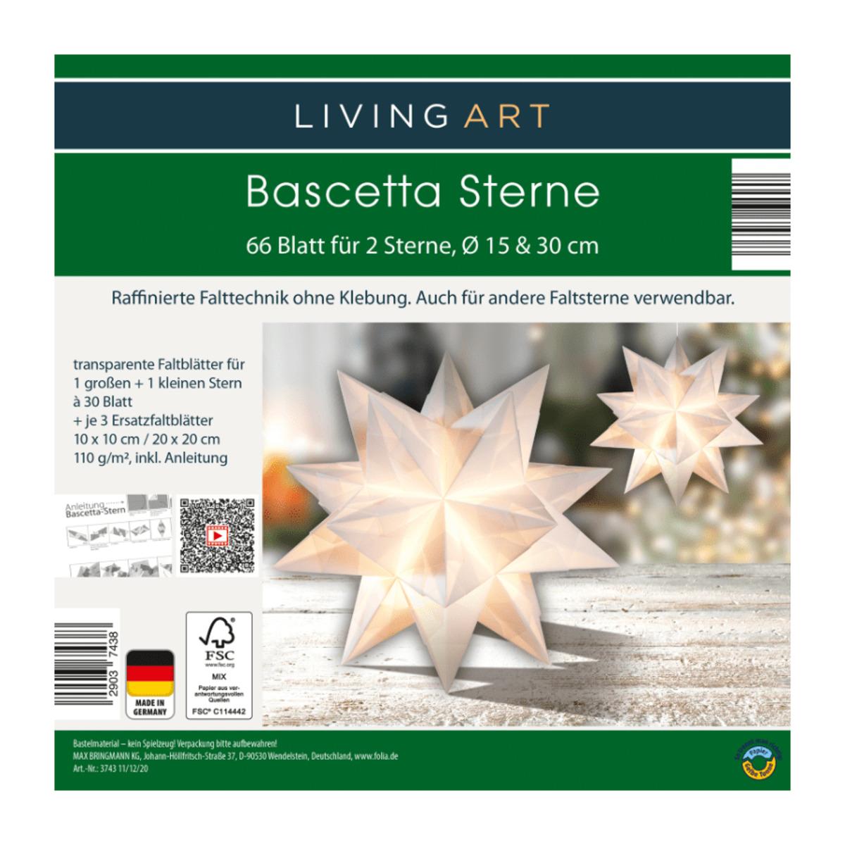Bild 5 von LIVING ART     Bascetta Sterne