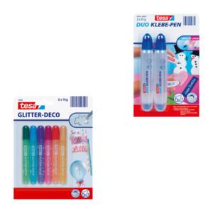 tesa Glitter-Deco / Duo Klebe-Pen