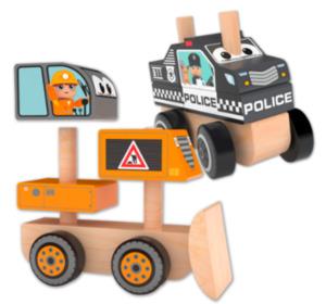 J'ADORE Holz-Fahrzeug
