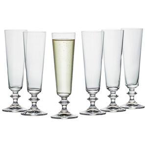 Bohemia Gläserset 6-teilig , 107207007 , Klar , Glas , 205 ml , klar , 003280012903