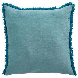 Ambiente Kissenhülle blau, weiß 48/48 cm , Cotton , Textil , Uni , 48x48 cm , 005717000403