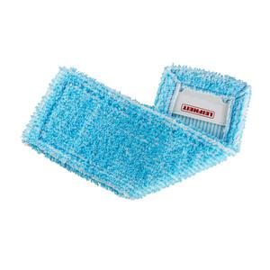 Leifheit Wischbezug profi , 55116 , Türkis , Textil , 3.5x27x16 cm , wiederverwendbar, effiziente Schmutzaufnahme , 0038720353