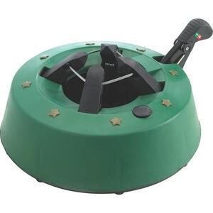 XXXLutz Christbaumständer 34 cm grün, schwarz , S250 , Kunststoff , Fußpedal, Wasserbehälter , 0079960111