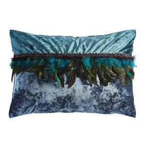 Ambiente Kissenhülle grün 40/60 cm , Glam Feather , Textil , Uni , 40x60 cm , Samt , formstabil , 008742008701