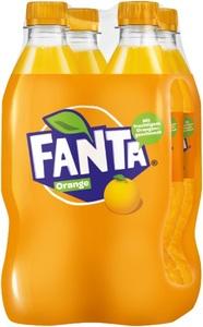 Fanta Orange 4x 0,5 ltr PET
