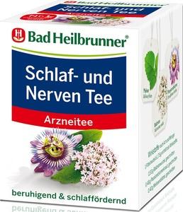 Bad Heilbrunner Schlaf- und Nerven Tee 8x 1,75 g