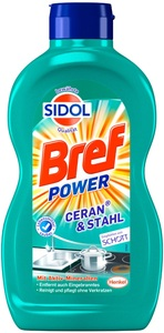 Sidol Bref Power Ceran & Stahl Reiniger 0,5 ltr