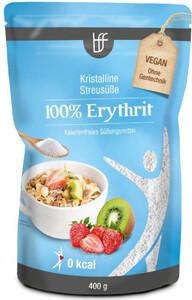 BFF 100% Erythrit - Kristalline Streusüße 400 g