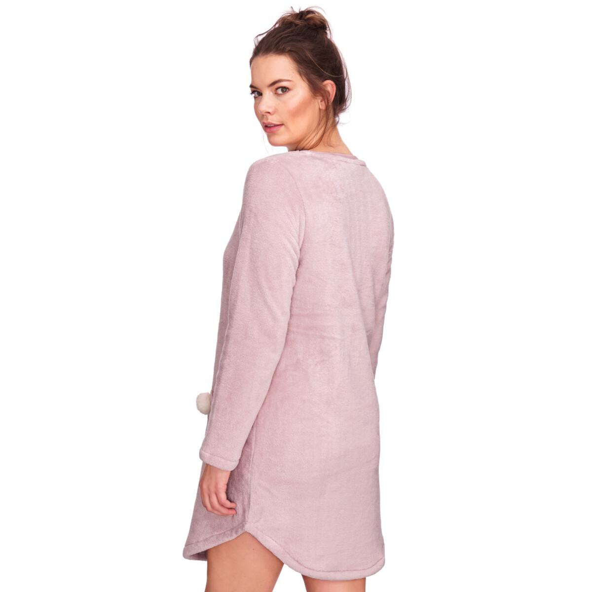 Bild 3 von Damen Fleece-Kleid mit zwei Taschen