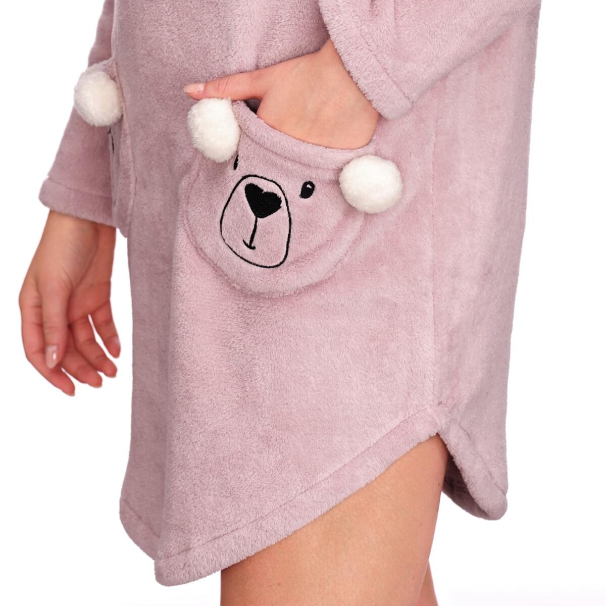 Bild 5 von Damen Fleece-Kleid mit zwei Taschen