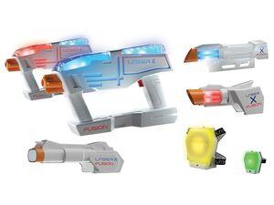 Laser X »Fusion Complete«, mit Tragegurt, für bis zu 2 Spieler, ab 6 Jahren