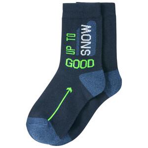 1 Paar Jungen Socken mit Schriftzug