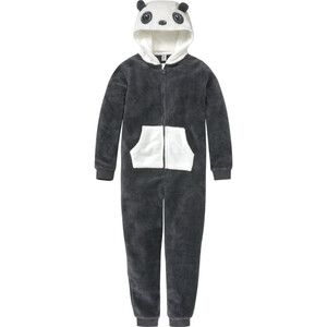 Mädchen Onesie im Panda-Look