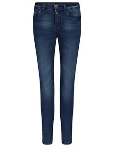 Damen Skinny Fit Bleached Jeans