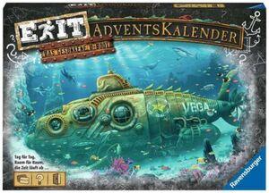 Ravensburger EXIT Adventskalender - Das gesunkene U-Boot