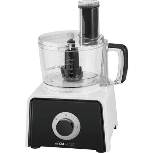 Clatronic Küchenmaschine KM 3645, weiß/schwarz