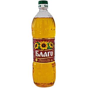 """Sonnenblumenöl """"Blago"""" nicht raffiniert"""
