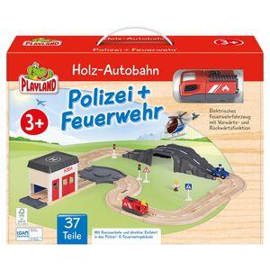 PLAYLAND Holz-Eisenbahn/-Autobahn