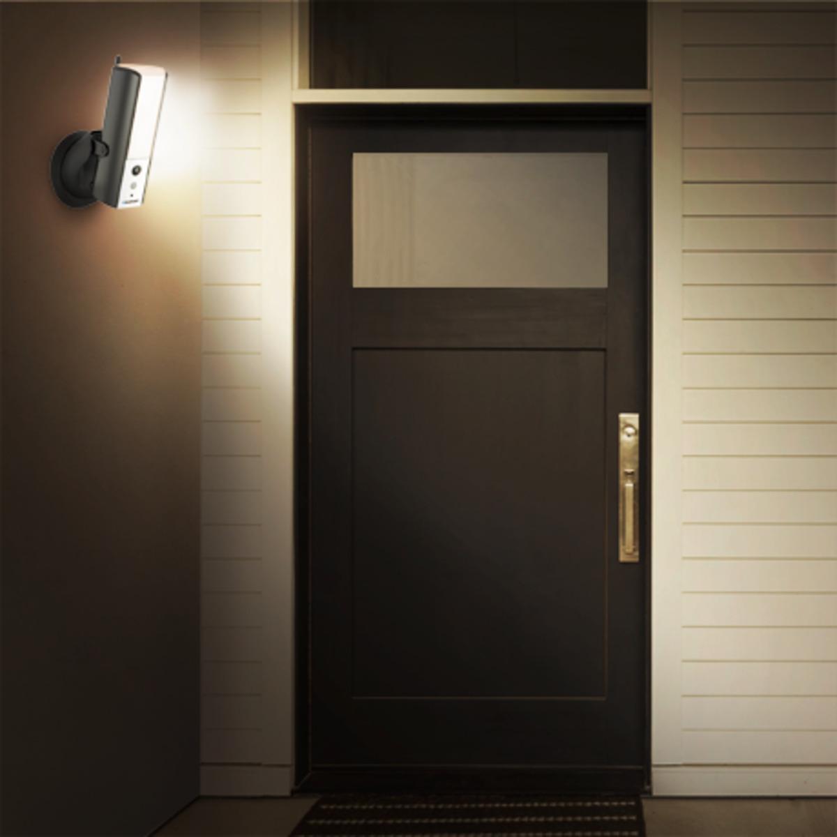 Bild 3 von Außenleuchte mit Überwachungskamera LampCam HOS-X201