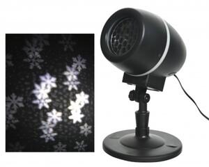Kaemingk LED Laser Projektor Flocken ,  kaltweiß, 10 x 15 x 35 cm