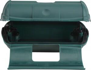 Unitec Steckerbox Safe-Box ,  groß IP44 grün