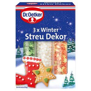 Dr. Oetker Backzutaten, Winter Streu Dekor 82 g
