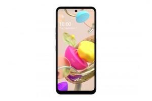 LG Smartphone K42 grau ,  64 GB