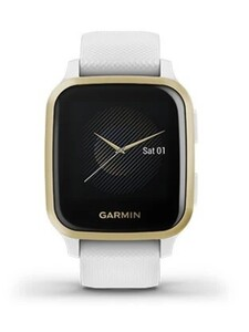 Garmin Smartwatch Venu SQ weiß ,