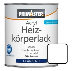 Primaster Acryl Heizkörperlack ,  750 ml, weiß, glänzend