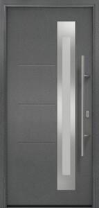 Hörmann Haustür ISOPRO Secur ,  1100 x 2100 mm. DIN links, Anthrazit Metallic CH 703