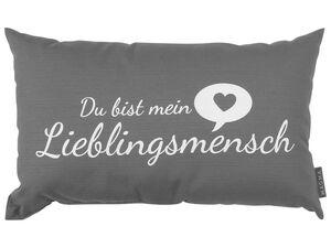 MAGMA Deko-Kissen Lieblingsmensch 30x50 cm