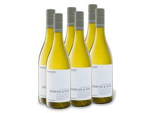 6 x 0,75-l-Flasche Weinpaket Weinkenner by Pfaffl Edmund & Toni Gemischter Satz trocken, Weißwein