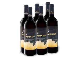 6 x 0,75-l-Flasche Weinpaket Aluado Alicante Bouschet trocken, Rotwein
